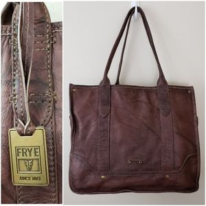 Frye Madison Tote Brown Leather Shopper